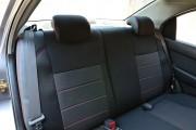 Фото 5 - Чехлы MW Brothers ZAZ VIDA Sedan (2012-н.д.), красная нить