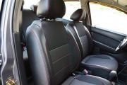 Фото 8 - Чехлы MW Brothers ZAZ VIDA Sedan (2012-н.д.), красная нить