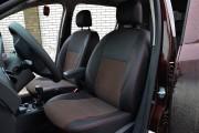 Фото 2 - Чехлы MW Brothers Renault Logan II (2012-2014), красная нить