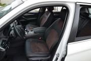 фото 4 - Чехлы MW Brothers BMW X5 (F15) (2014-2018), коричневая алькантара + коричневая нить