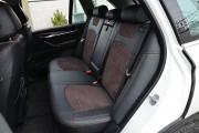 Фото 5 - Чехлы MW Brothers BMW X5 (F15) (2014-н.д.), коричневая алькантара + коричневая нить