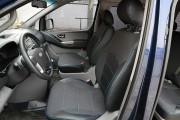 Фото 2 - Чехлы MW Brothers Hyundai H-1 II пассажир (8 мест) (2007-н.д.), синяя нить