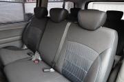 Фото 3 - Чехлы MW Brothers Hyundai H-1 II пассажир (8 мест) (2007-н.д.), синяя нить