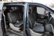 Фото 6 - Чехлы MW Brothers Hyundai H-1 II пассажир (8 мест) (2007-н.д.), синяя нить