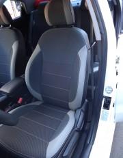 MW Brothers Hyundai Accent IV (Solaris) sedan (2011-2017), светлые вставки + серая нить
