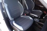 Фото 3 - Чехлы MW Brothers Hyundai Accent IV (Solaris) sedan (2011-2017), светлые вставки + серая нить