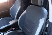 Фото 5 - Чехлы MW Brothers Hyundai Accent IV (Solaris) sedan (2011-2017), светлые вставки + серая нить