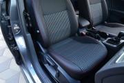 Фото 2 - Чехлы MW Brothers Volkswagen Golf VII Hatchback (2013-н.д.), красная нить