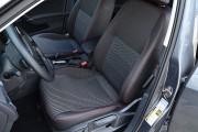 Фото 6 - Чехлы MW Brothers Volkswagen Golf VII Hatchback (2013-н.д.), красная нить