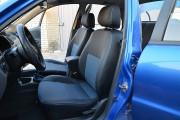 Фото 2 - Чехлы MW Brothers ZAZ Lanos T100 hatchback (2009-н.д.), синяя нить