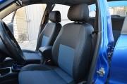 Фото 2 - Чехлы MW Brothers ZAZ Lanos T150 sedan (2004-н.д.), синяя нить
