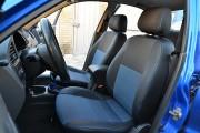 Фото 6 - Чехлы MW Brothers ZAZ Lanos T150 sedan (2004-н.д.), синяя нить