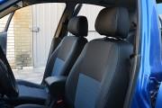 Фото 8 - Чехлы MW Brothers ZAZ Lanos T150 sedan (2004-н.д.), синяя нить
