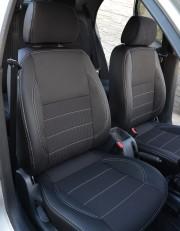 MW Brothers ZAZ Lanos T100 hatchback (2009-н.д.), темные+серая нить