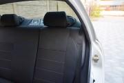 Фото 2 - Чехлы MW Brothers ZAZ Lanos T100 hatchback (2009-н.д.), темные+серая нить
