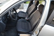Фото 5 - Чехлы MW Brothers ZAZ Lanos T100 hatchback (2009-н.д.), темные+серая нить