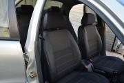 Фото 6 - Чехлы MW Brothers ZAZ Lanos T100 hatchback (2009-н.д.), темные+серая нить