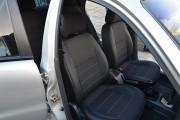 Фото 7 - Чехлы MW Brothers ZAZ Lanos T100 hatchback (2009-н.д.), темные+серая нить