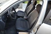 Фото 7 - Чехлы MW Brothers ZAZ Lanos T150 sedan (2004-н.д.), темные+серая нить