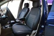 Фото 2 - Чехлы MW Brothers Hyundai Accent Verna (2005-2010), серая нить