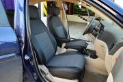 Фото 8 - Чехлы MW Brothers Hyundai Accent Verna (2005-2010), серая нить