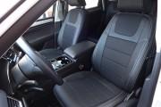 Фото 2 - Чехлы MW Brothers Volkswagen Touareg II Life, TDI (2011-2018), серая нить