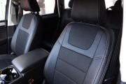 Фото 3 - Чехлы MW Brothers Volkswagen Touareg II Life, TDI (2011-2018), серая нить