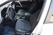 Фото 7 - Чехлы MW Brothers Toyota RAV4 IV (гибрид) (2016-2018), серая нить