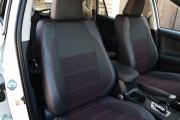 Фото 3 - Чехлы MW Brothers Toyota RAV4 IV (гибрид) (2016-2018), красная нить