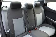 Фото 2 - Чехлы MW Brothers Hyundai Elantra V (MD) (2011-2015), серая нить