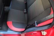 Фото 6 - Чехлы MW Brothers ZAZ Lanos T100 Hatchback (2009-н.д.), красные вставки+красная нить