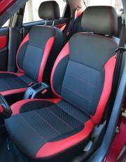 MW Brothers ZAZ Lanos T150 Sedan (2004-н.д.), красные вставки+красная нить
