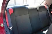 Фото 2 - Чехлы MW Brothers ZAZ Lanos T150 Sedan (2004-н.д.), красные вставки+красная нить