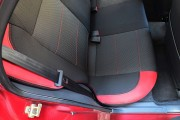 """'ото 8 - """"ехлы MW Brothers ZAZ Lanos T150 Sedan (2004-н.д.), красные вставки+красна¤ нить"""
