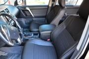 Фото 7 - Чехлы MW Brothers Toyota Land Cruiser Prado 150 (2009-2013), серая нить