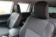Фото 3 - Чехлы MW Brothers Toyota Land Cruiser Prado 150 араб - 7 мест (2009-н.д.), серая нить