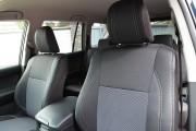 Фото 5 - Чехлы MW Brothers Toyota Land Cruiser Prado 150 араб - 7 мест (2009-н.д.), серая нить