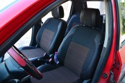 Фото 2 - Чехлы MW Brothers Hyundai Getz (2002-2011), красная нить