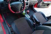 Фото 4 - Чехлы MW Brothers Hyundai Getz (2002-2011), красная нить