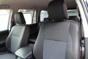 Фото 5 - Чехлы MW Brothers Toyota Land Cruiser Prado 150 рестайлинг (2013-2017), серая нить