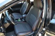 Фото 2 - Чехлы MW Brothers Toyota Auris II (2012-н.д.), красная нить