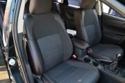 Фото 6 - Чехлы MW Brothers Toyota Auris II (2012-н.д.), красная нить