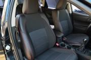 Фото 8 - Чехлы MW Brothers Toyota Auris II (2012-н.д.), красная нить
