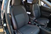 Фото 6 - Чехлы MW Brothers Toyota Auris II Touring Sports (2012-н.д.), красная нить