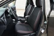 Фото 4 - Чехлы MW Brothers Toyota Corolla (E170) (2013-н.д.), красная нить