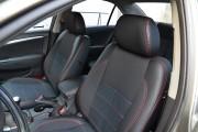 Фото 2 - Чехлы MW Brothers Hyundai Sonata (NF) (2004-2010), красная нить
