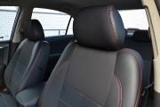 Фото 3 - Чехлы MW Brothers Hyundai Sonata (NF) (2004-2010), красная нить