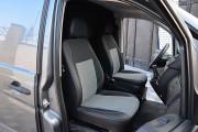 Фото 6 - Чехлы MW Brothers Mercedes-Benz Vito W639 (1+1) грузовой (2003-2014), серая нить