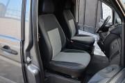 Фото 7 - Чехлы MW Brothers Mercedes-Benz Vito W639 (1+1) грузовой (2003-2014), серая нить