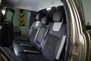 Фото 7 - Чехлы MW Brothers Ford Ranger III (2011-2015), светлые вставки+серая нить